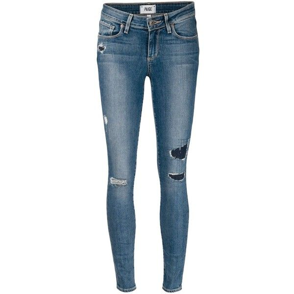 Paige Verdugo Skinny Jeans ($259) ❤ liked on Polyvore featuring jeans, pants, bottoms, pantalones, blue, paige denim, blue jeans, skinny jeans, skinny leg jeans and denim skinny jeans