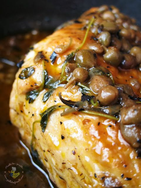 Brasato di tacchino ai capperi - Turkey roast with capers | Foodblog ...