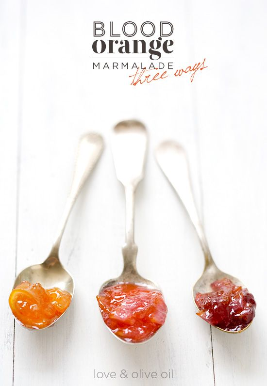 Loving this Blood Orange Marmalade by @LoveandOliveOil