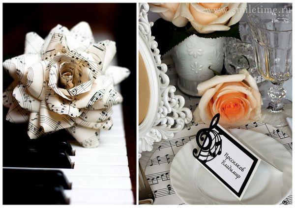 Нотная свадьба  #wedding #music