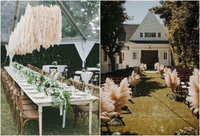 Продолжая говорить о трендах свадебного сезона 2017, нельзя не отметить тенденции во флористике. Здесь садовая тема достигла своего явного апогея- балом правят травы. Сложно придумать что-то более свободное и природное, чем декоративные злаки. Такая тенденция пришла к нам не на один год, и конечно нужно время, чтобы смелость флористов и невест окончательно признали ее триумф. Глядя на американские свадьбы (а все мы знаем, что именно американский рынок задает мировые свадебные тренды), мы…