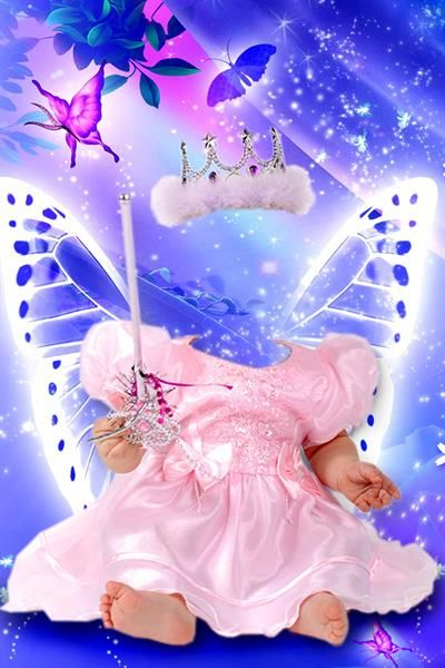 Детский костюм маленькая принцесса фотошоп