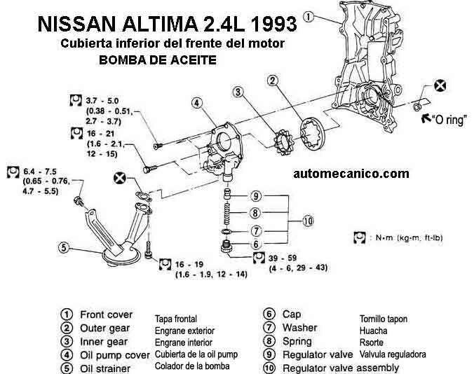 Cadena De Tiempo Nissan Altima 2 5 10 In 2020 Nissan Altima 2006 Nissan Altima 2007 Nissan Altima