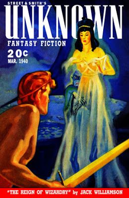 El Descanso del Escriba: Unknown/Unknown Worlds, revista Pulp clasica