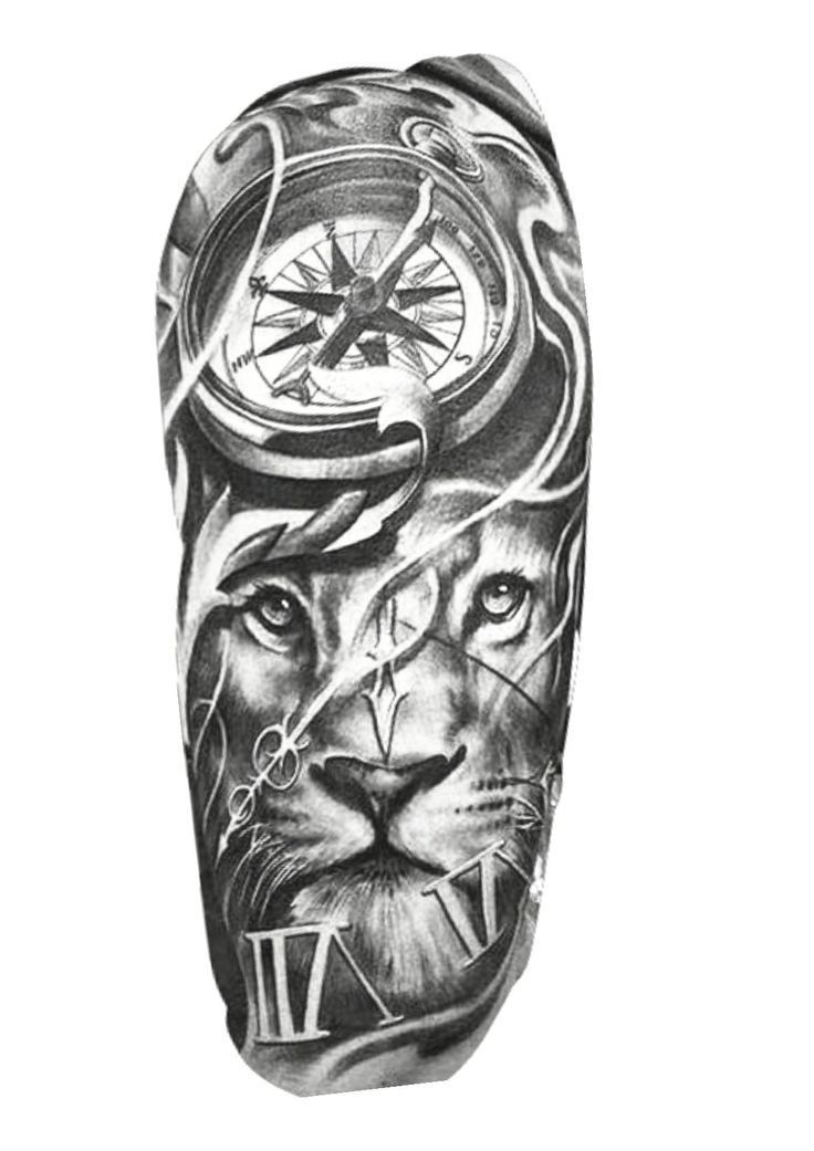 Lion Tattoo Design – #design #lion #tattoo