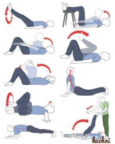 Kilka takich ćwiczeń a Twoje uda i brzuch zmniejszą swoją obwód o 2 cm!!!