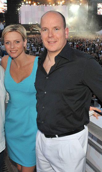 Charlène et Albert Monaco