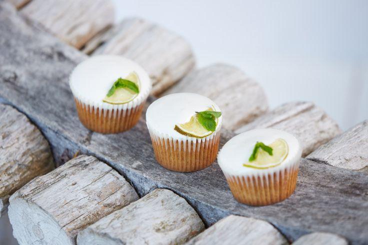 Mojito Cupcakes with Italian Meringue. www.centerpiececakes.co.za