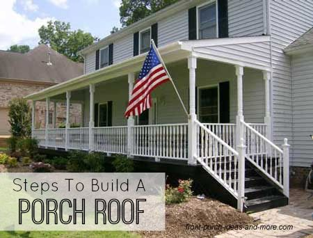 72 best manufactured home makeover images on pinterest for How to build a front porch on a mobile home