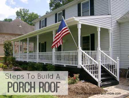 Building a Porch Roof