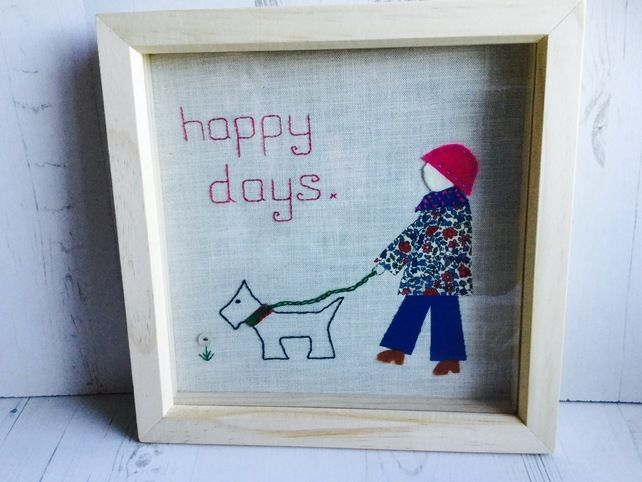 Happy Days Dog Picture £25.00