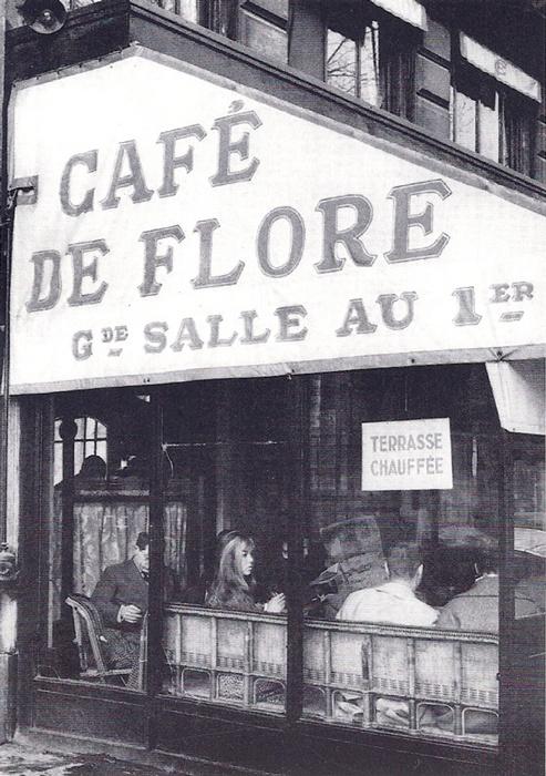 Have endless conversations at Café de Flore in Saint-Germain des Prés