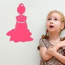 Wallsticker Prinsesse
