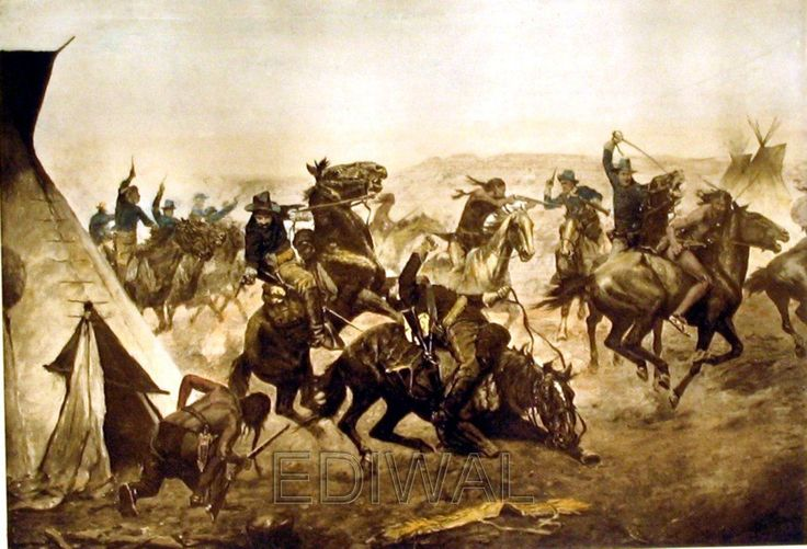 an examination of the cowboys versus indians Best answer: cowboys hardly roughnecked with indians, cowboys spent their days protecting their scalps, and their horses from horse-thieves and ambitious young indian males who syoel the horses to become more rich indians considered horses as a form of money when an indian.