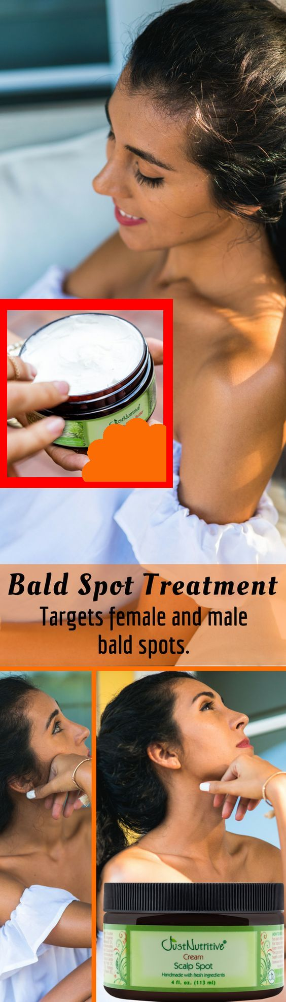 Developed for men and women that are suffering from hair loss. – Bonnie Carlson