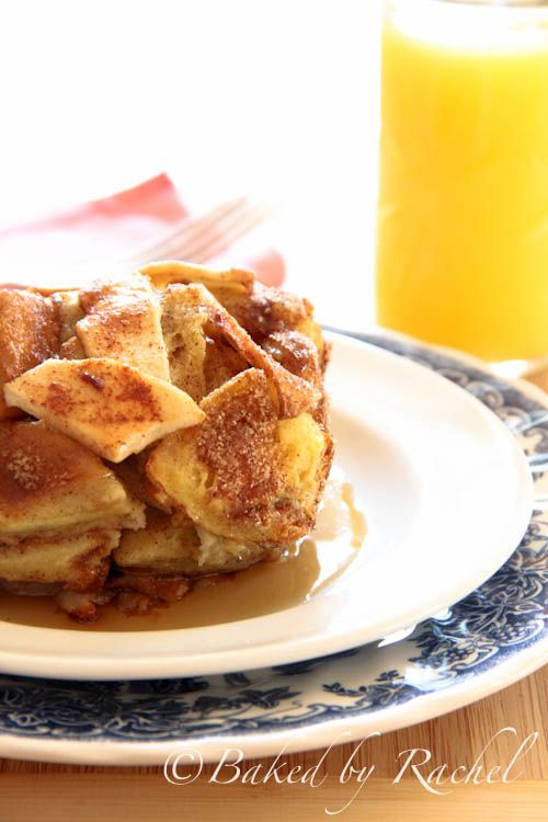 Apple Pie French Toast Casserole - bakedbyrachel.com