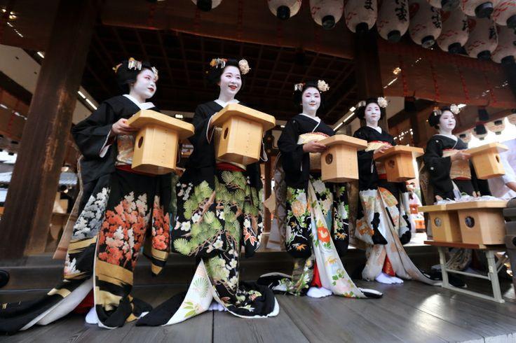 八坂神社 節分祭 ~宮川町~