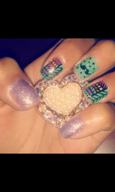 Nails by me * Silvana ♡ ♡