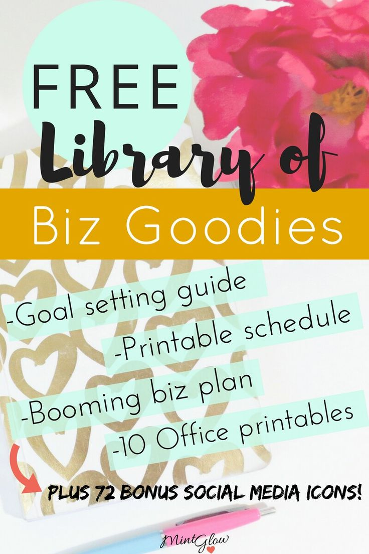 Get instant access to an online library of resources for bloggers and business owners!