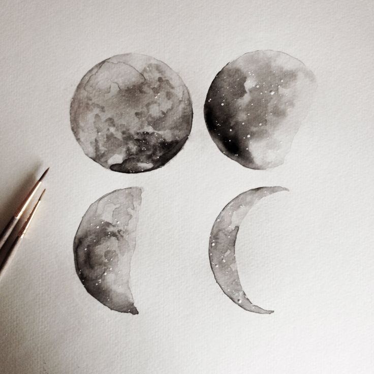 Lunar Moon Phase by LovelyDayFleur on Etsy
