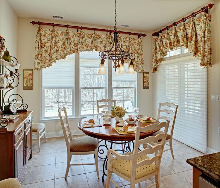 Dining Room Bay Window Curtain Ideas   The Dining Room Curtain Ideas For  The Beautiful Result