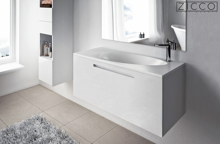 ZICCO Aero Die ergonomische Form erleichtert die Reinigung Ihres Badezimmers.