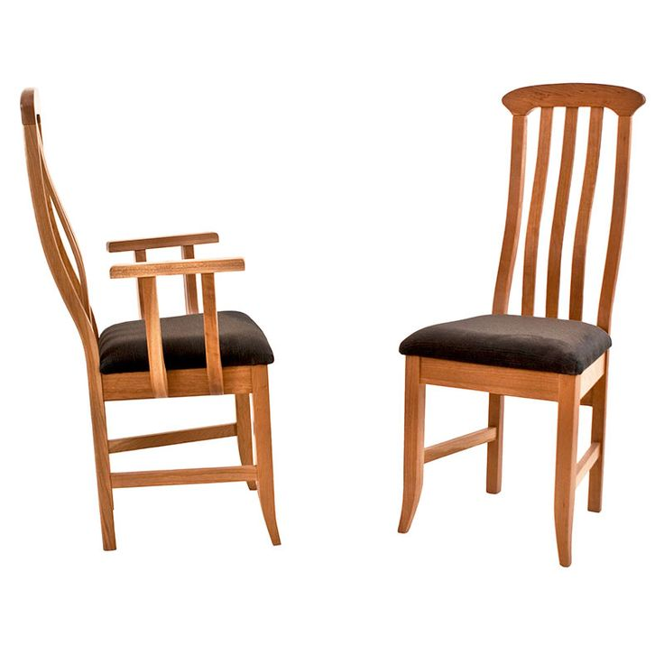 ... Solid Wood Classic Shaker Wave Chair Provides Ergonomic Support And  Comfort And Well As High End Style. These Dining Chairs Feature A Gently  Curved Back ...