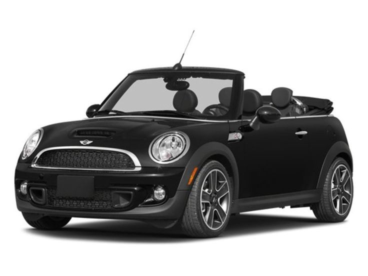 All black Mini Cooper Convertible S