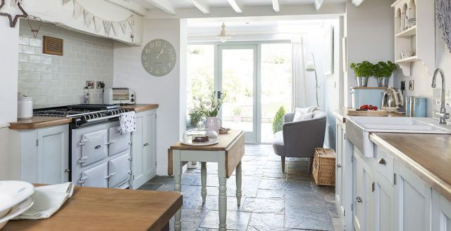 This cosy cottage has been given back its heart  - housebeautiful.co.uk