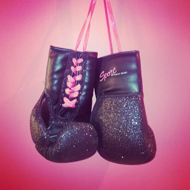 Boxing ♥ ... I dont sweat, I sparkle. but i actually don box either but lets just pretend i do