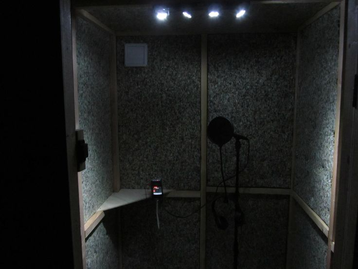 My Homemade Recording Booth With Ac For Under 500