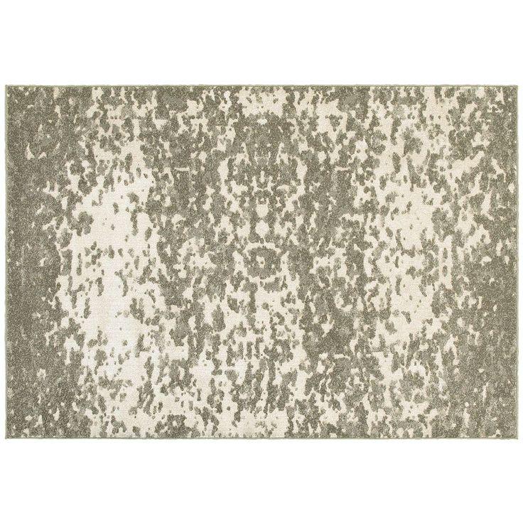StyleHaven Riley Dappled Days Abstract Plush Rug, Beig/Green (Beig/Khaki)