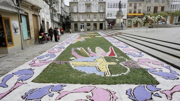Cofrades de Viveiro: 53 nuevas fotografías del Corpus Christi de Viveiro gracias a Don Antonio Fernández-Noriega...