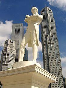 Thomas Woolner - Sir Stamford Raffles - Singapore