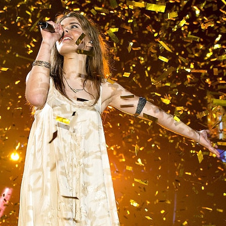 Tanska  Only teardrops - Emmelie de Forest, Denmark's representative for this year's Eurovision Song Contest.