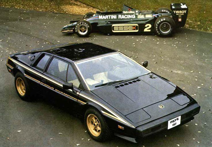 black and gold lotus esprit turbo s2 | ... Type 106 Esprit X180R LotusSport 110 '05 Elise(custodian) '13 Evora S