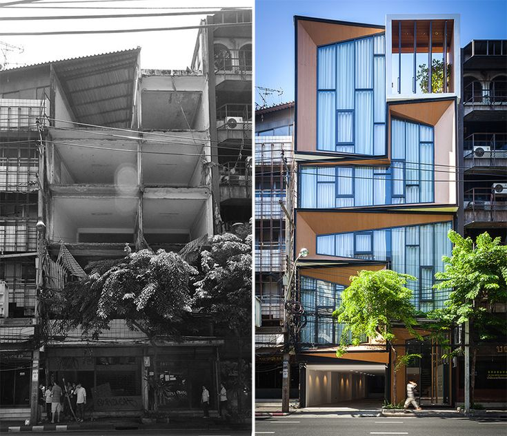 Before & After – A Dramatic Transformation For A Building In Thailand | CONTEMPORIST