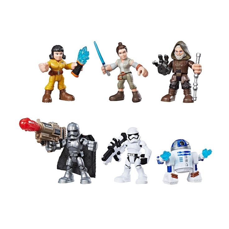 Star Wars Galactic Heroes Resistance Vs. First Order Pack by Hasbro, Multicolor