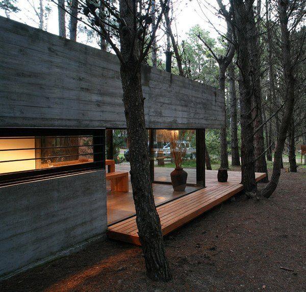 Lesser Wohndesign: Landhaus Design Terasse Blick