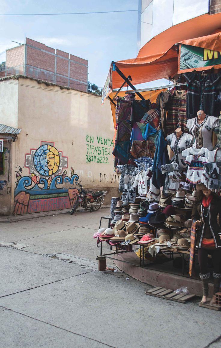 Handicrafts in Copacabana, Bolivia   heneedsfood