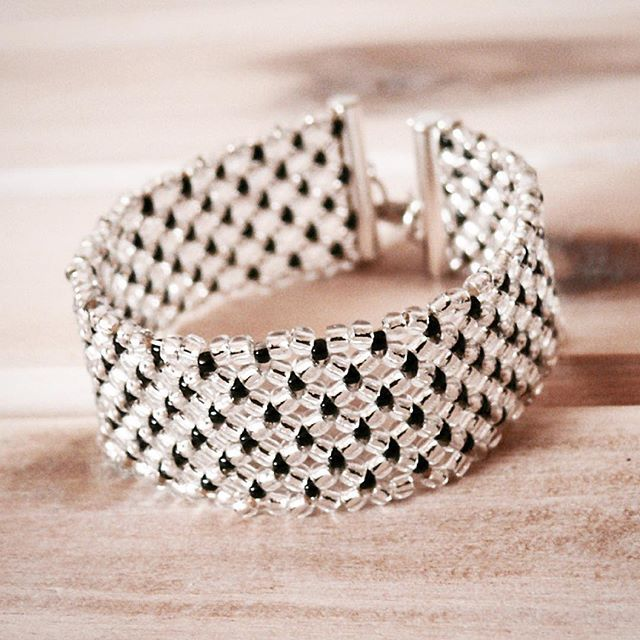 #beading #zkoralików #mobihandmade #DIY #bransoletka #bracelet #beadedbracelet