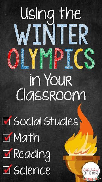 Winter Olympics in your classroom!