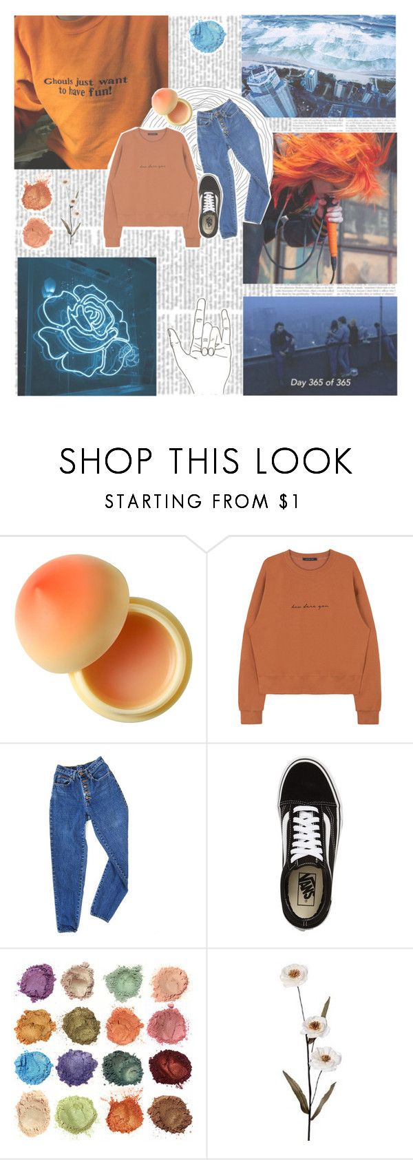 """""""☼ opposite color tag ☼"""" by teeni-99 ❤ liked on Polyvore featuring Tony Moly, PèPè and Vans"""