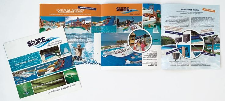 At ThinkBAG we designed and printed Acqua Source's Flyers for Waterparks.