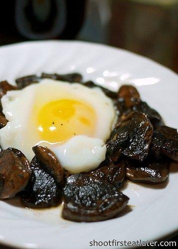 Cohen Lifestyle - mushroom & egg breakfast