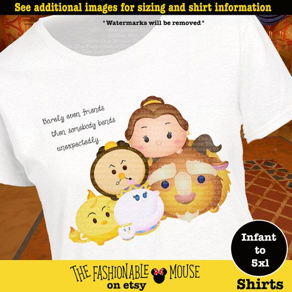 Disney Song Shirt, Mrs Potts Shirt, Beauty And The Beast Shirt, Beauty And The Beast Tsum Tsum Shirt