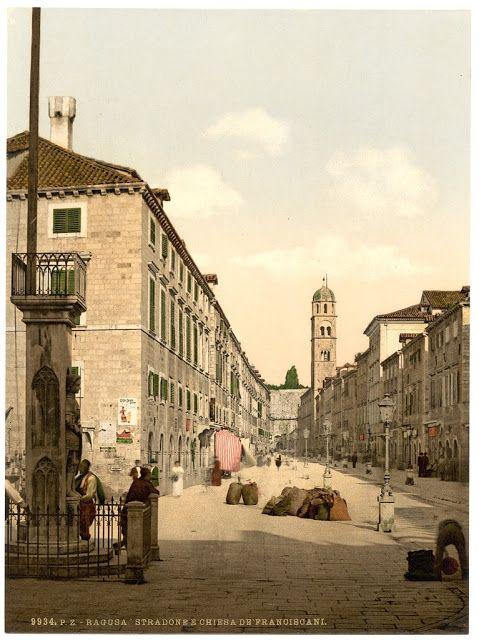 Zdjęcie z Chorwacji wykonane ponad 100 lat temu    #croatia #chorwacja #oldphoto #hrvatska    http://crolove.pl/category/historia-chorwacji/
