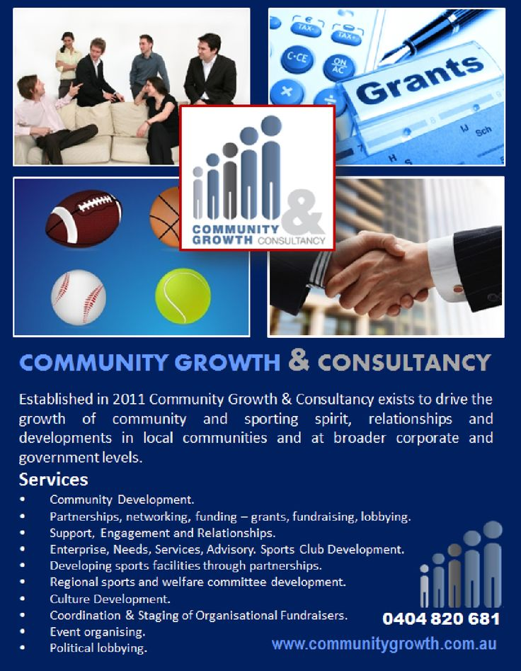 Community Growth & Consultancy