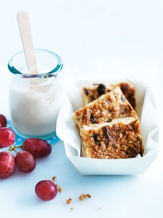 coconut and rice puff muesli squares