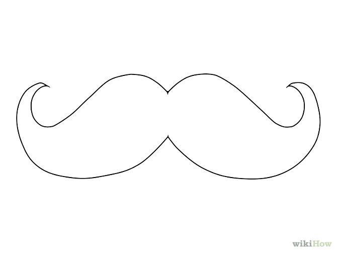 Draw a mustache educations ideas pinterest mustache - Moustache dessin ...